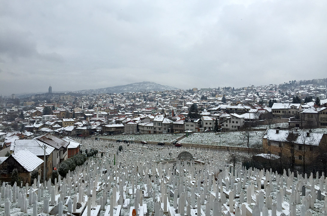Кладбище Гражданской войны в Сараево, Босния и Герцеговина