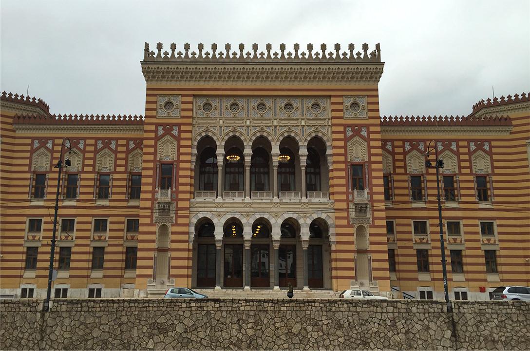 Национальная библиотека в Сараево, Босния и Герцеговина