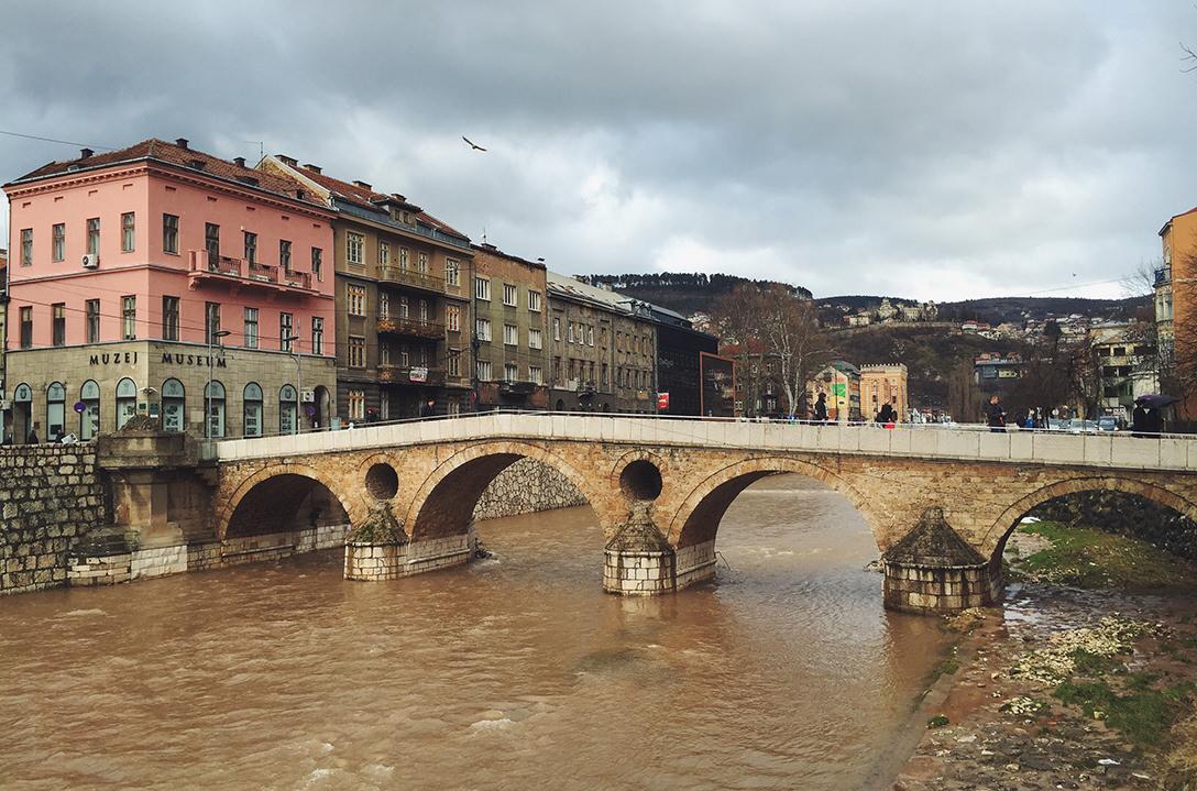 Латинский мост в Сараево, Босния и Герцеговина