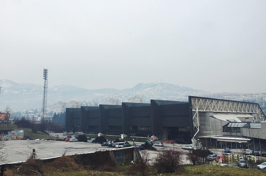 Olympic Hall в Сараево, Босния и Герцеговина