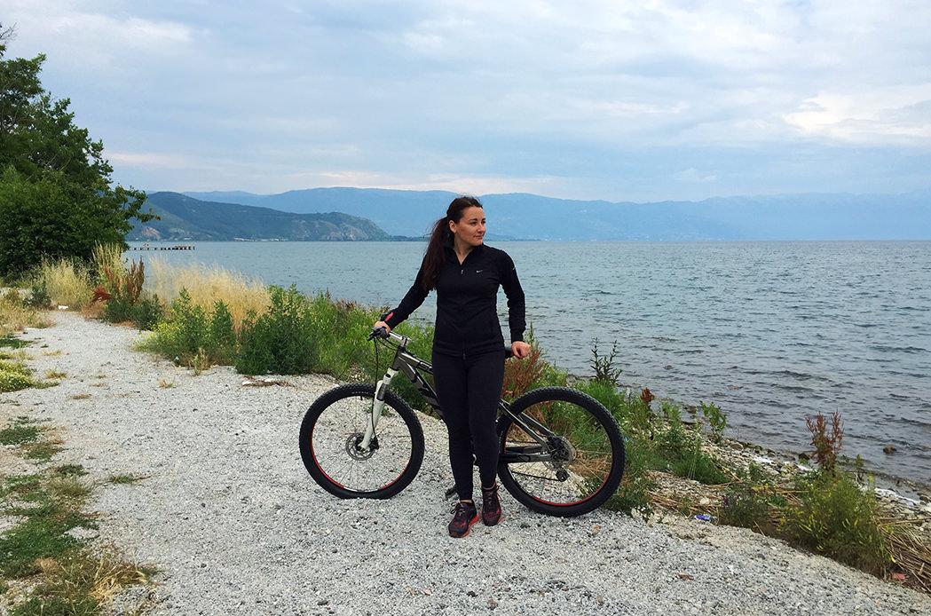 озеро Охрид, Македония