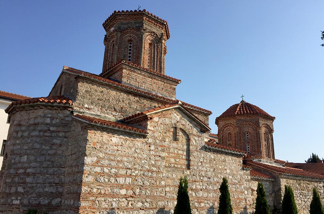 Храм Святого Наума, Македония