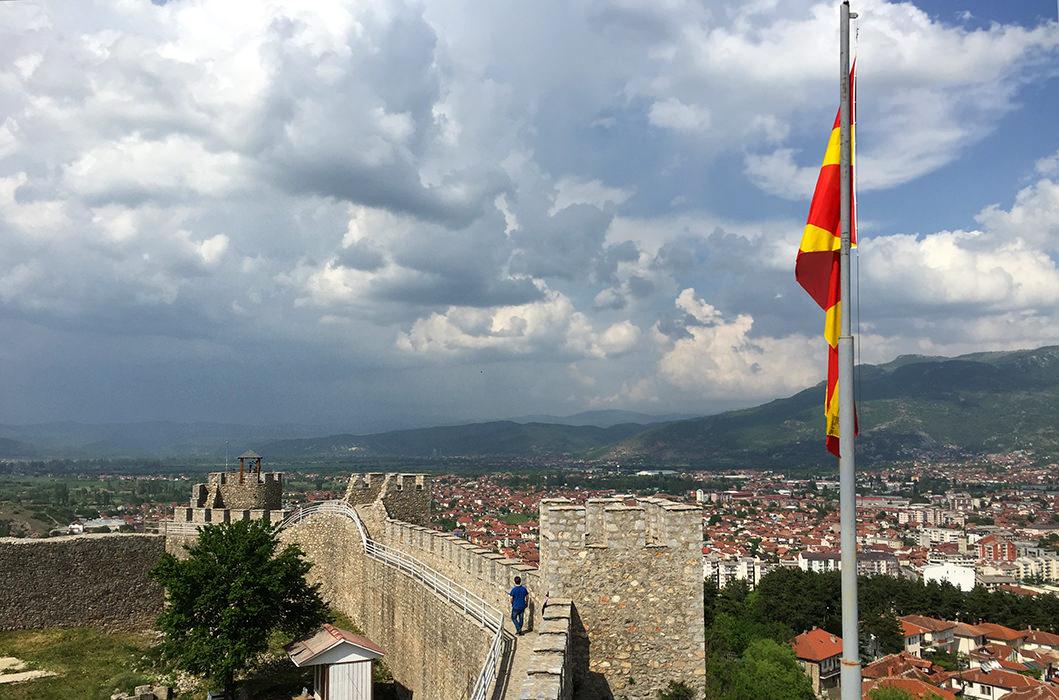 Крепость Самуила в Охриде, Македония