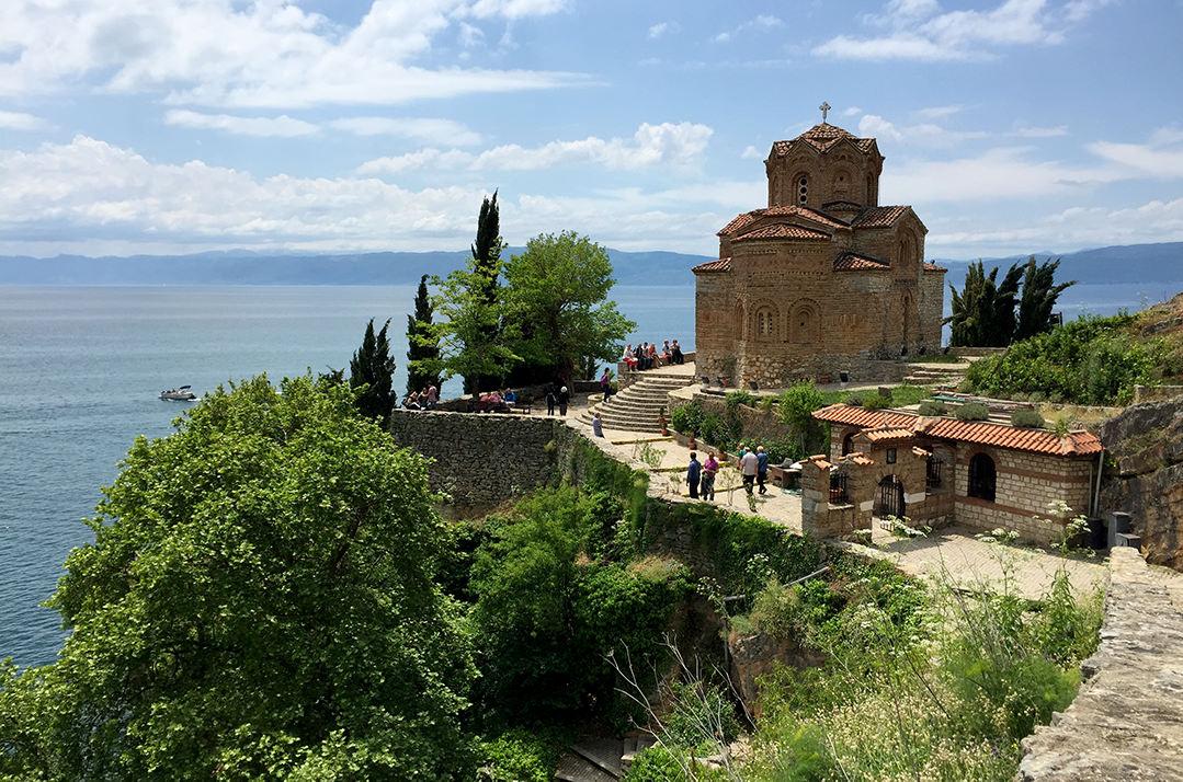 Храм Святого Иоанна Канео в Охриде, Македония