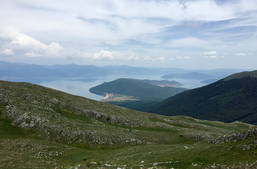 Озеро Преспа, Македония