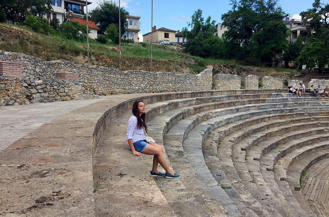 Античный театр в Охриде, Македония