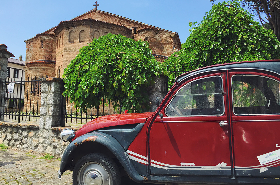 Ретромобили в Охриде, Македония