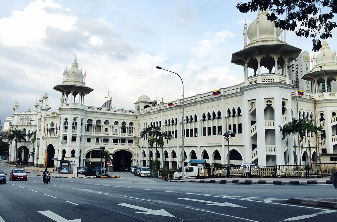Старый железнодорожный вокзал Куала Лумпура