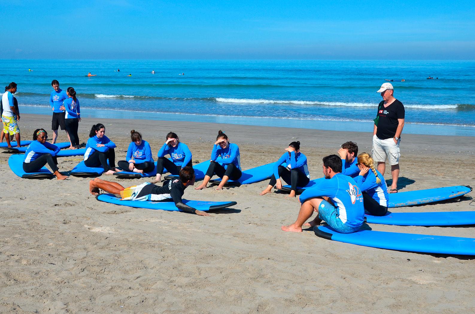 Школа серфинга Up2U на Бали
