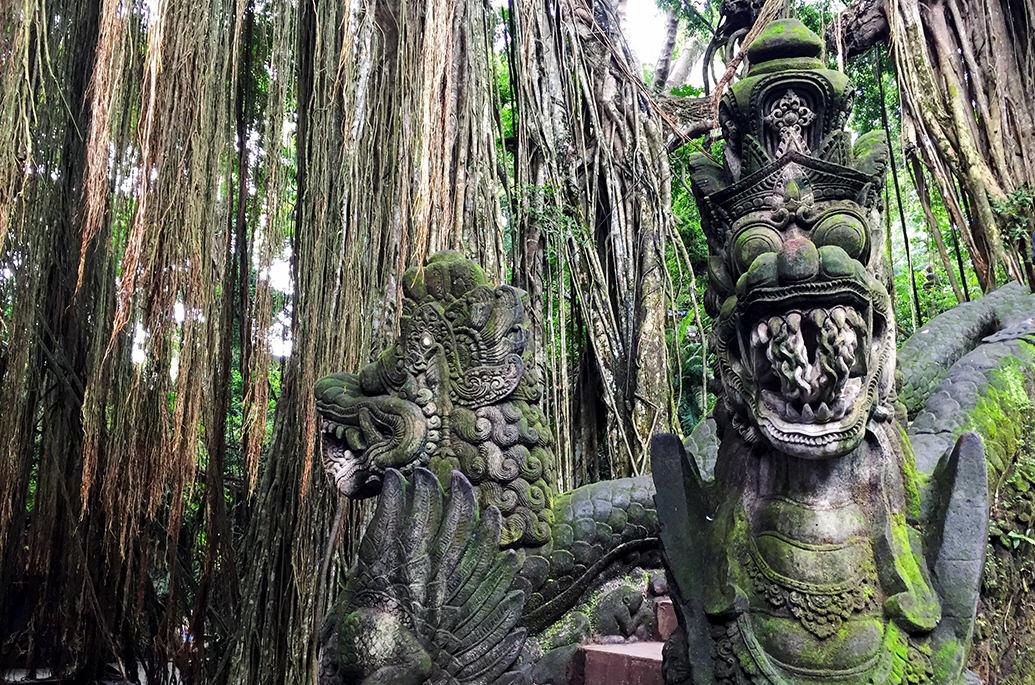 Лес Обезьян в Убуде, Бали