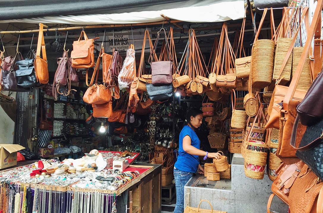 Арт-маркет Убуда, Бали