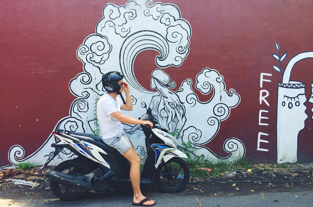 Байк на Бали