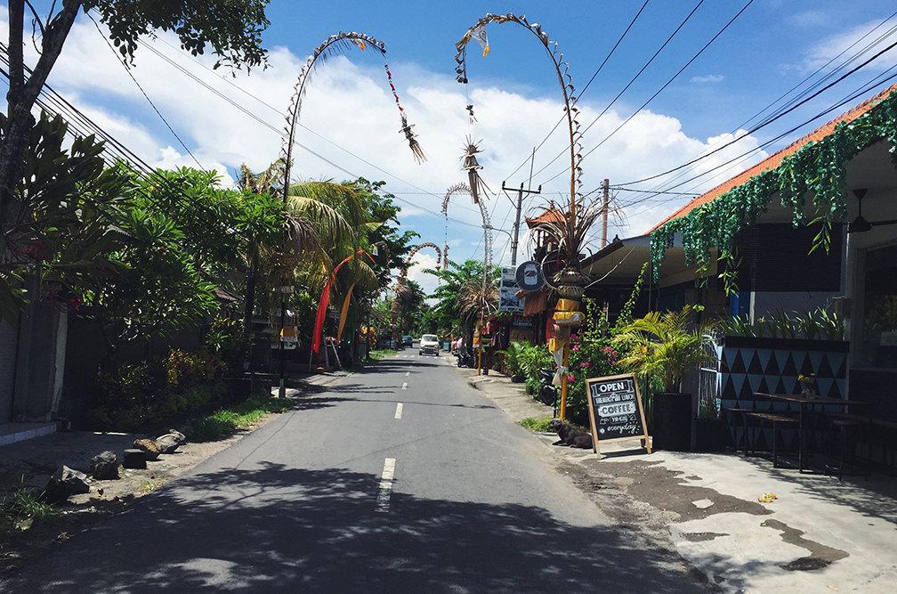 Пенжоры на Бали