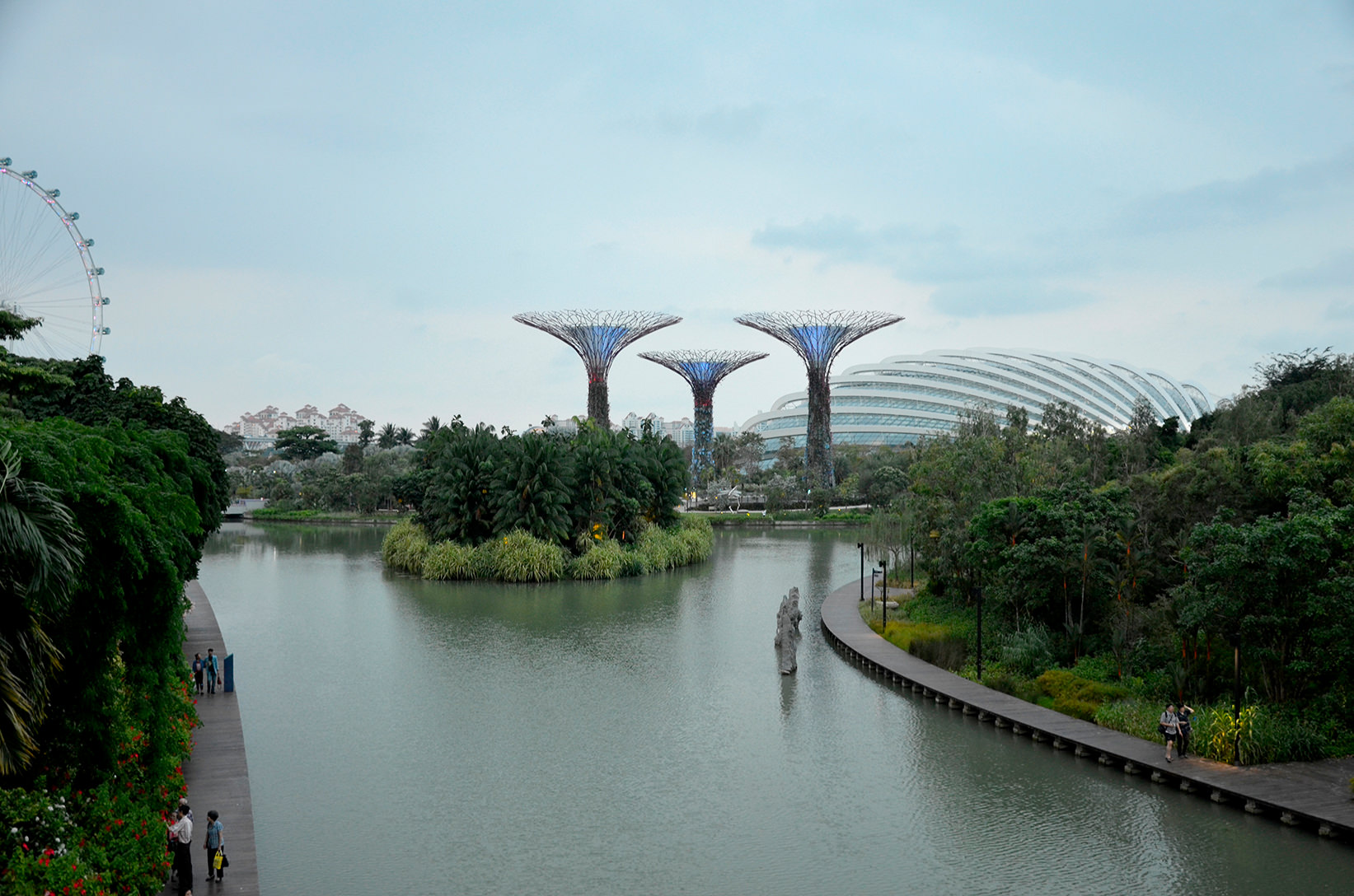Gardens by the Bay, Сингапур