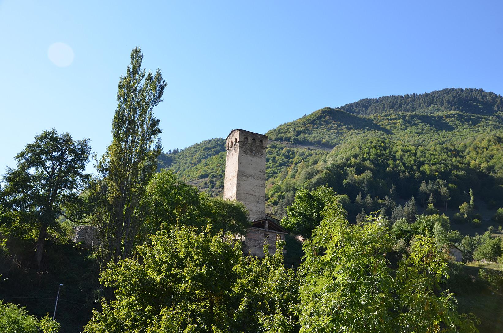 Сванская башня в Местии