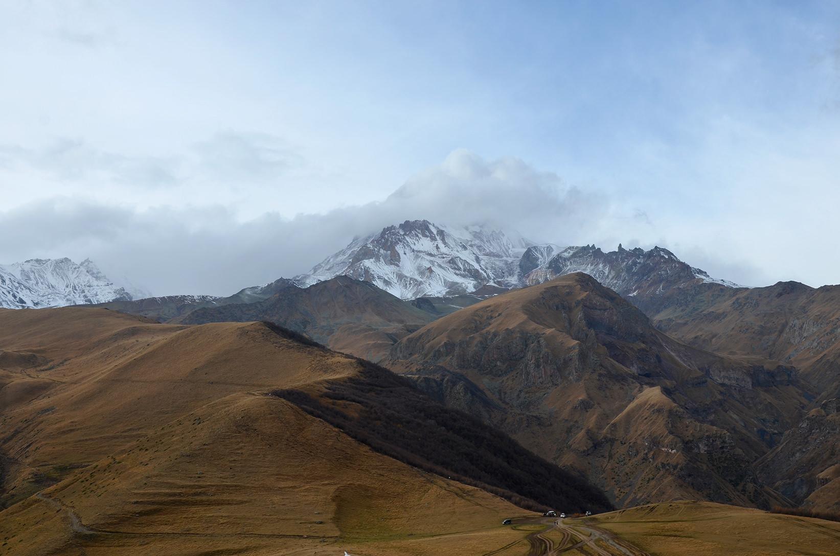 Гора Казбек, Грузия