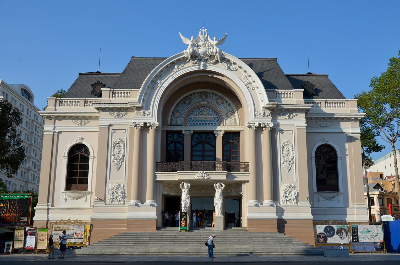 Оперный театр Хошимина, Вьетнам