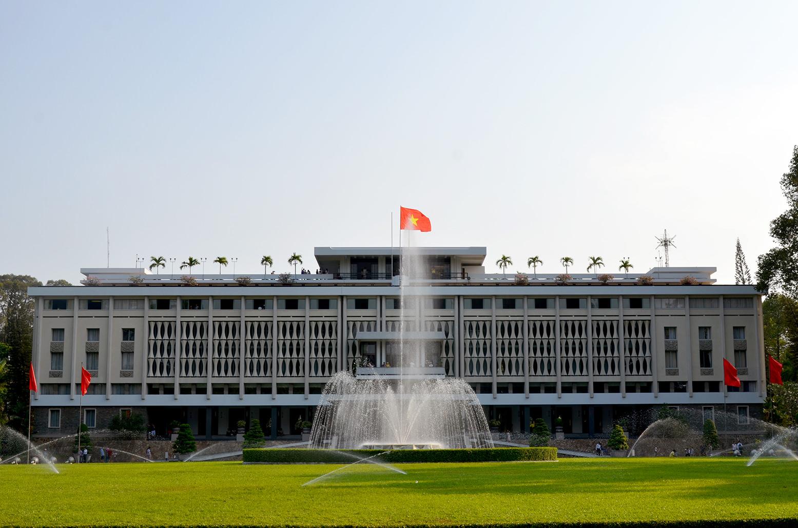 Дворец Независимости или Воссоединения Вьетнама, Хошимин