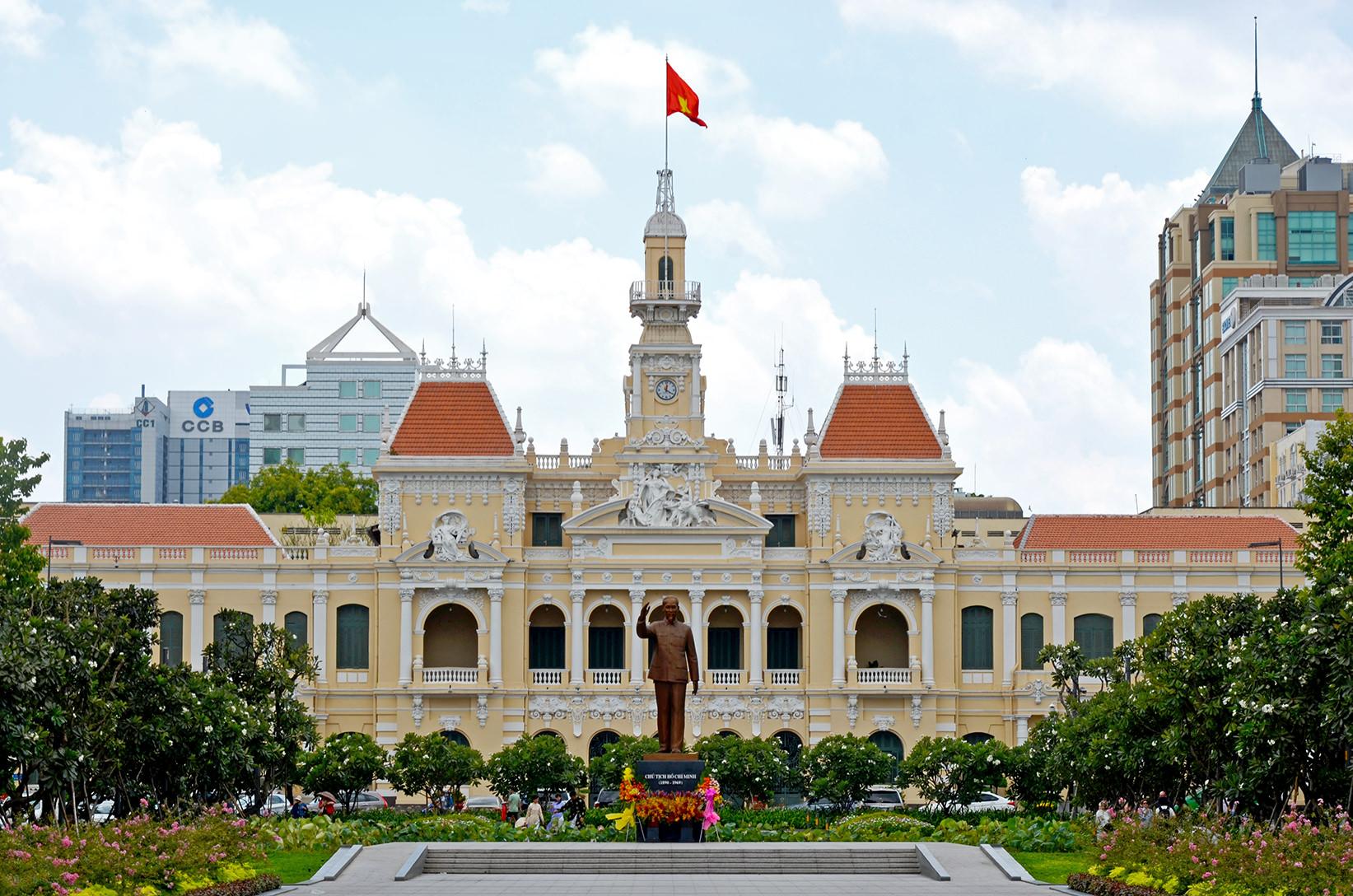 Здание городского совета Хошимина, Вьетнам
