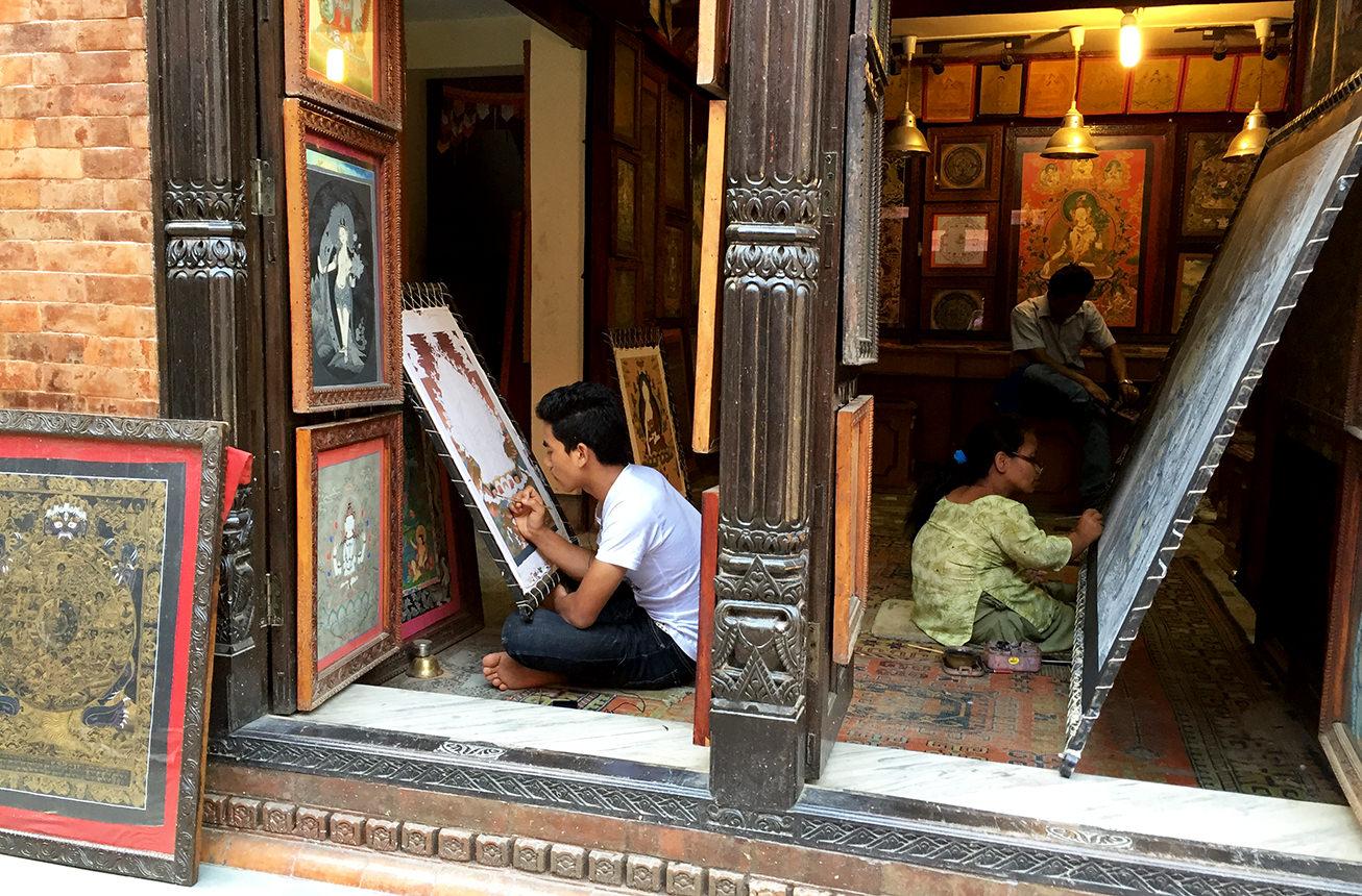 Мандалы из Непала