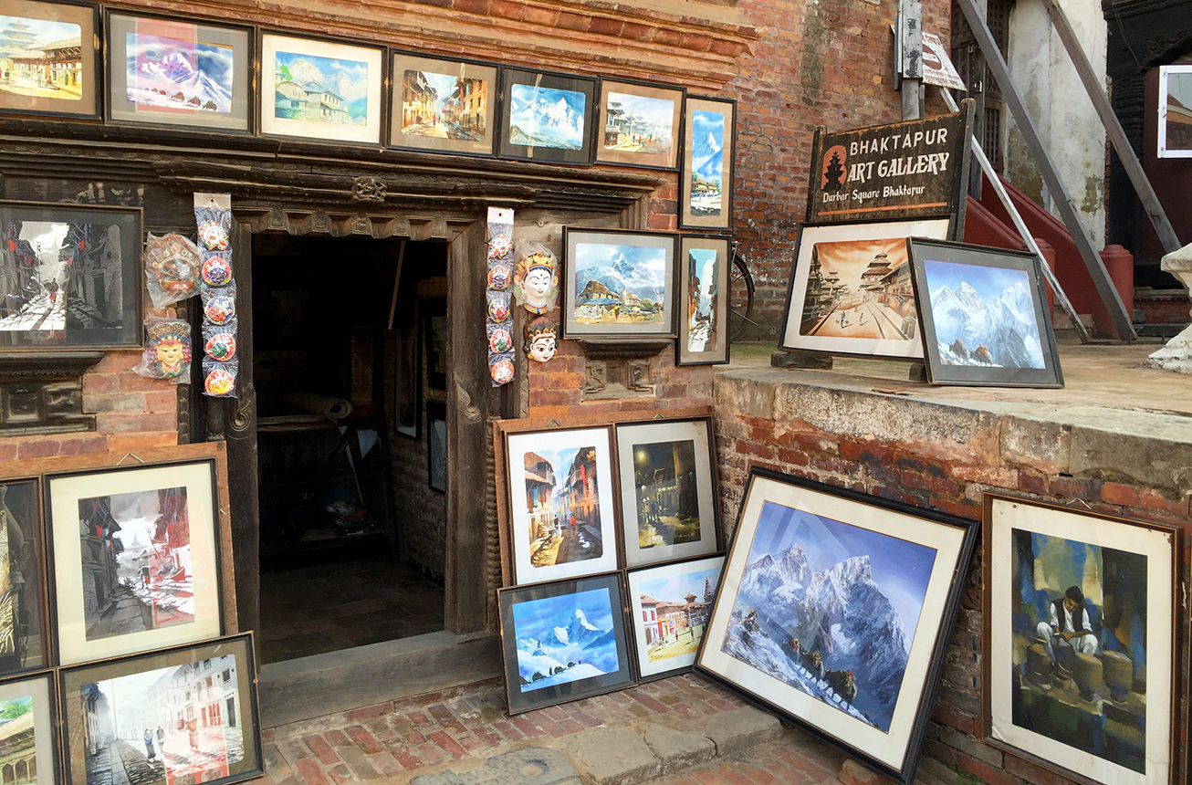 Картины из Непала