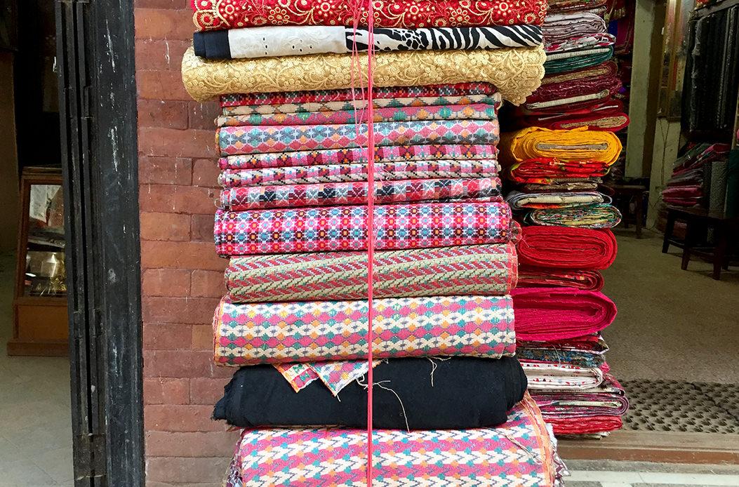 Непальский текстиль