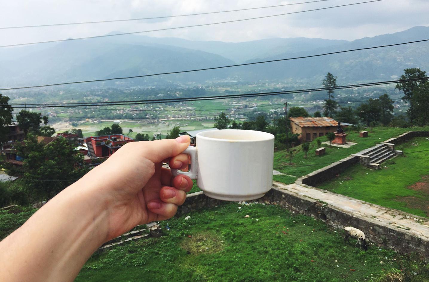 Непальский чай. Долина Катманду