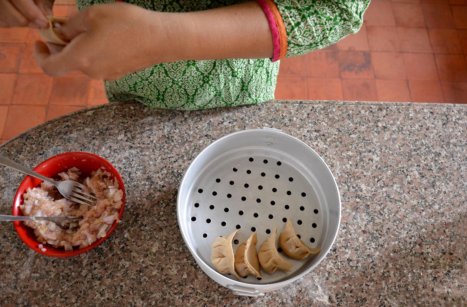 Непальские момо