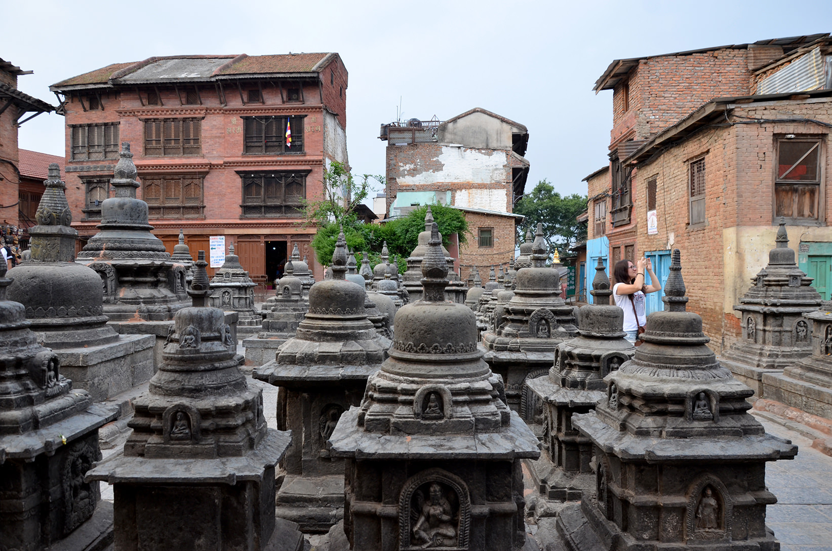 Храм Сваямбунатх в Катманду, Непал