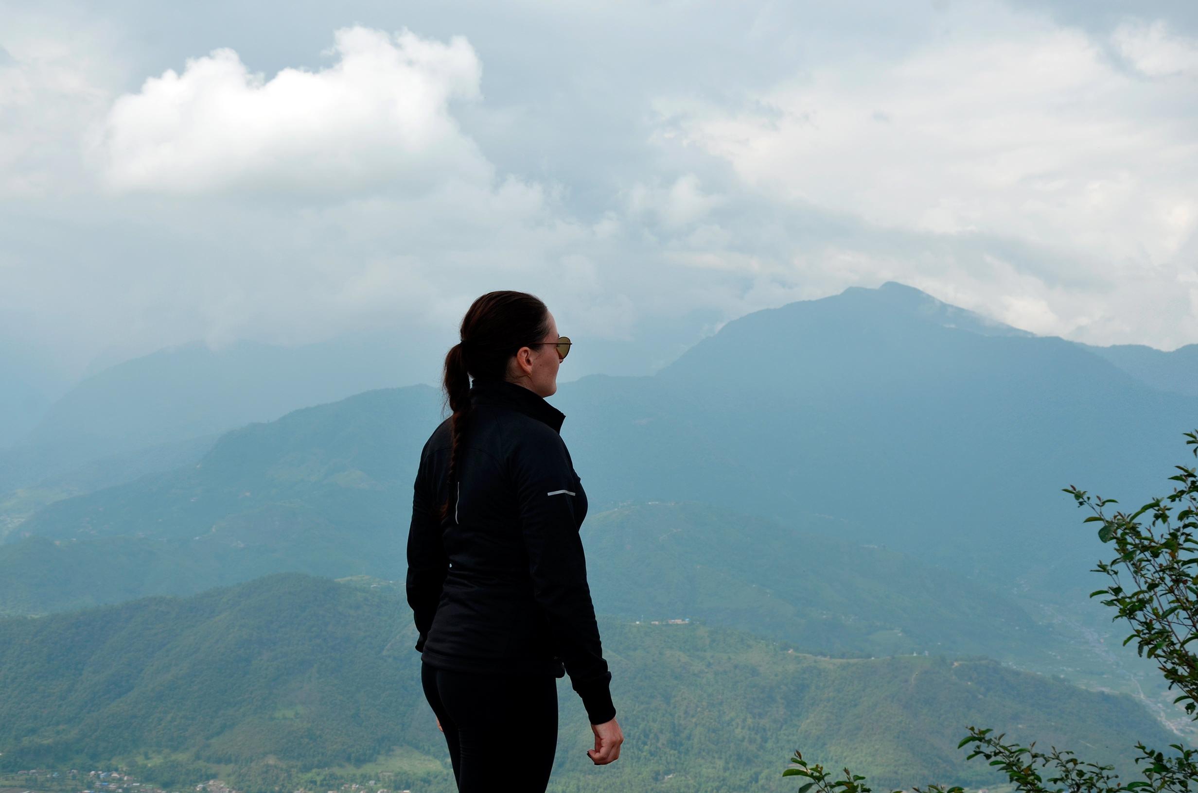 Обзорная точка Сарангкот, Непал