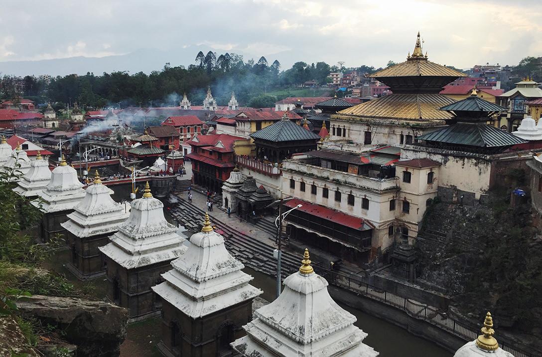 Храм Пашупатинатх в Катманду, Непал