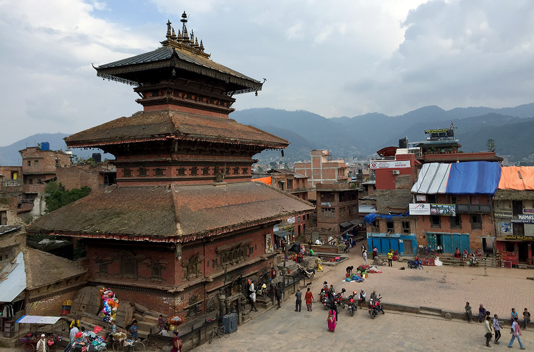 Площадь Таумадхи в Бхактапуре, Непал