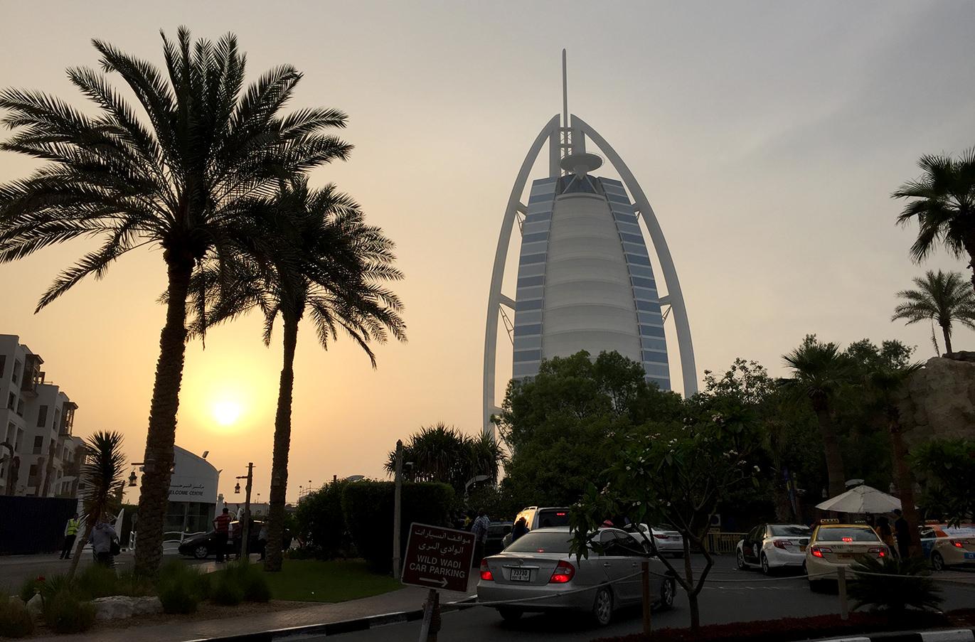 Бурдж Аль Араб в Дубаи