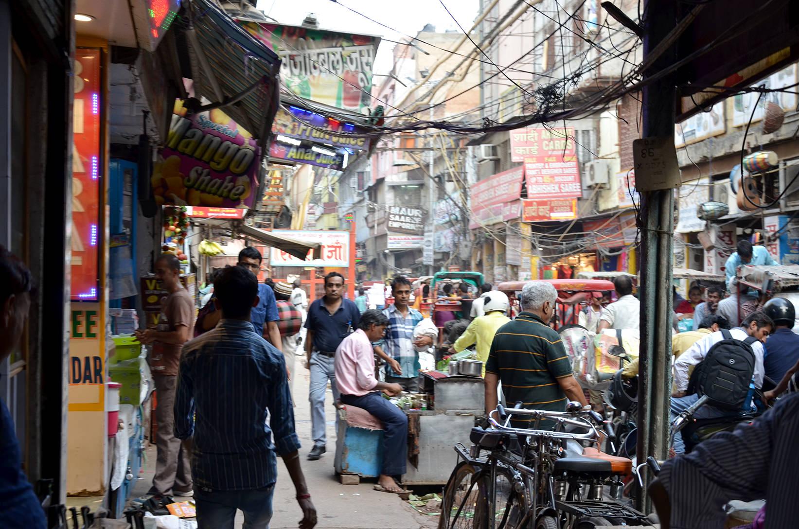 Улицы Старого Дели, Индия