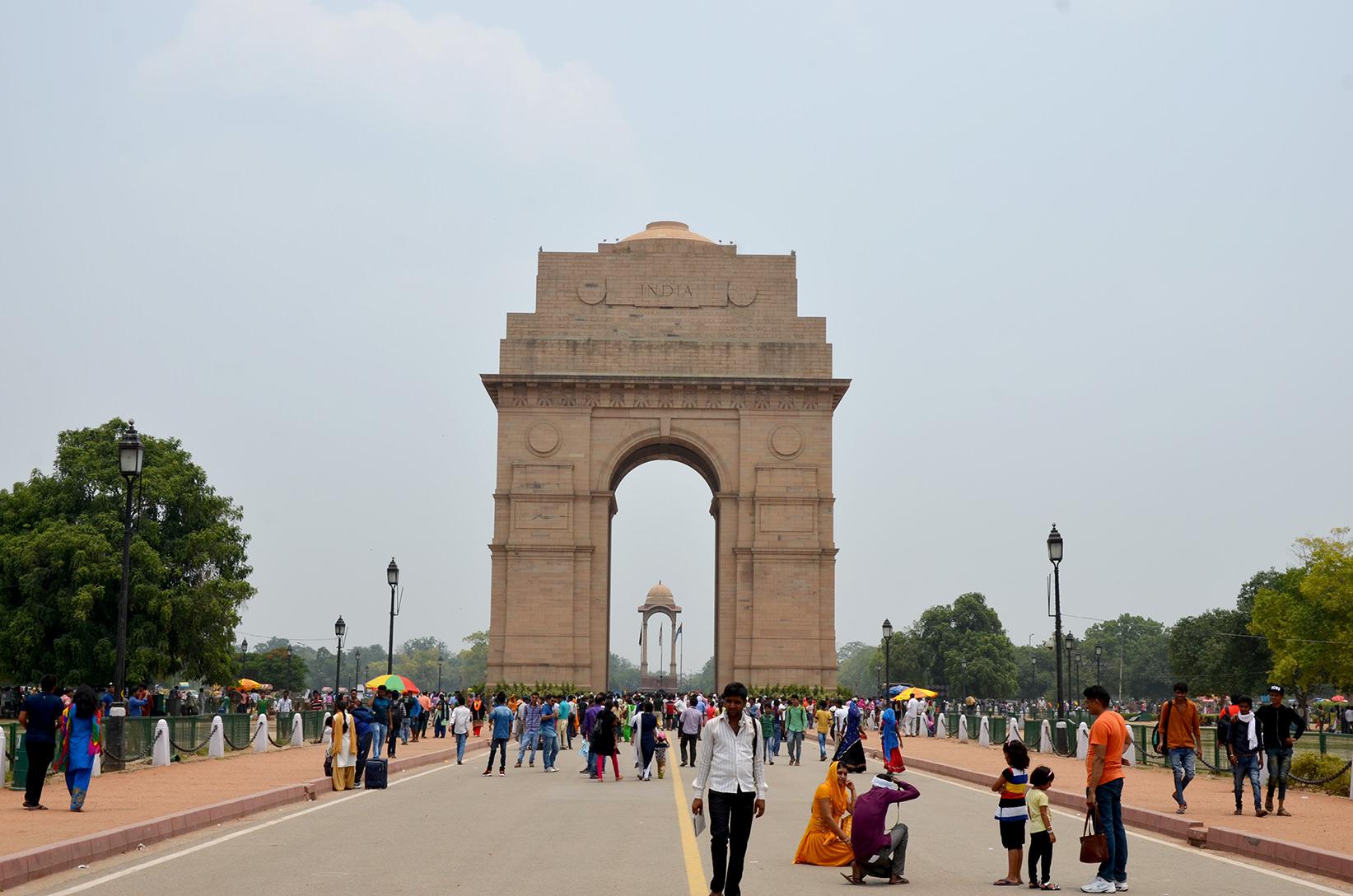 Ворота Индии в Нью Дели