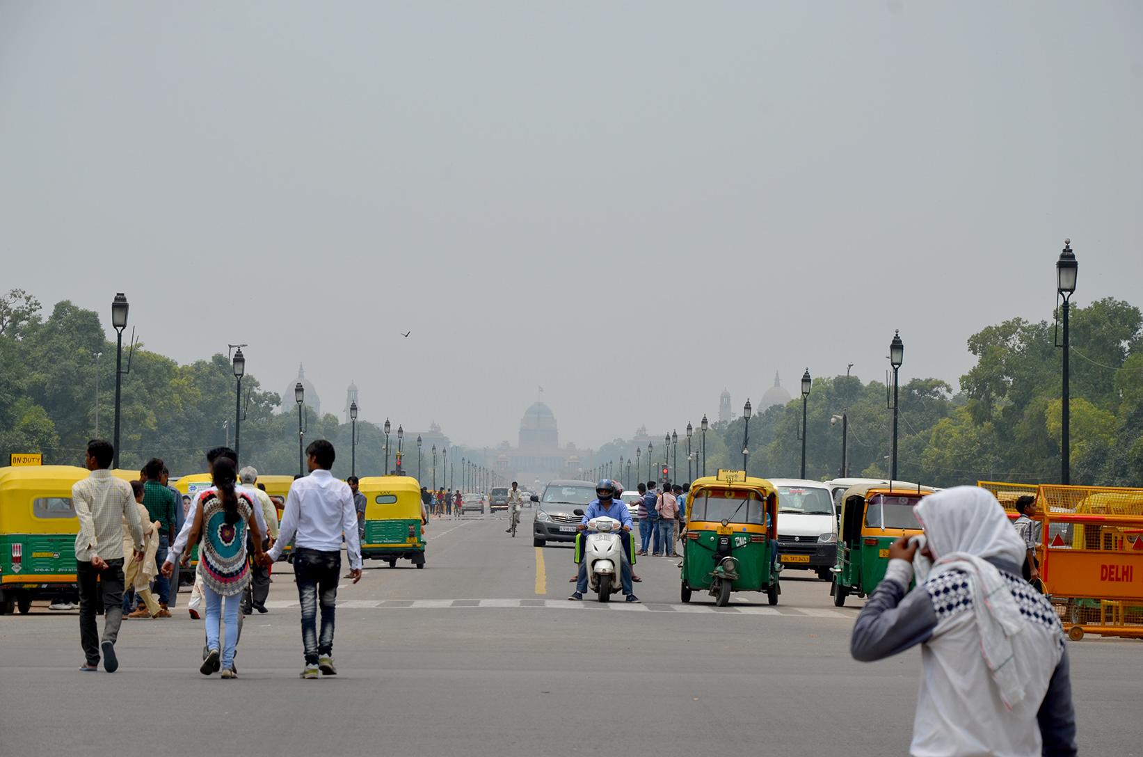 Президентский дворец в Дели, Индия