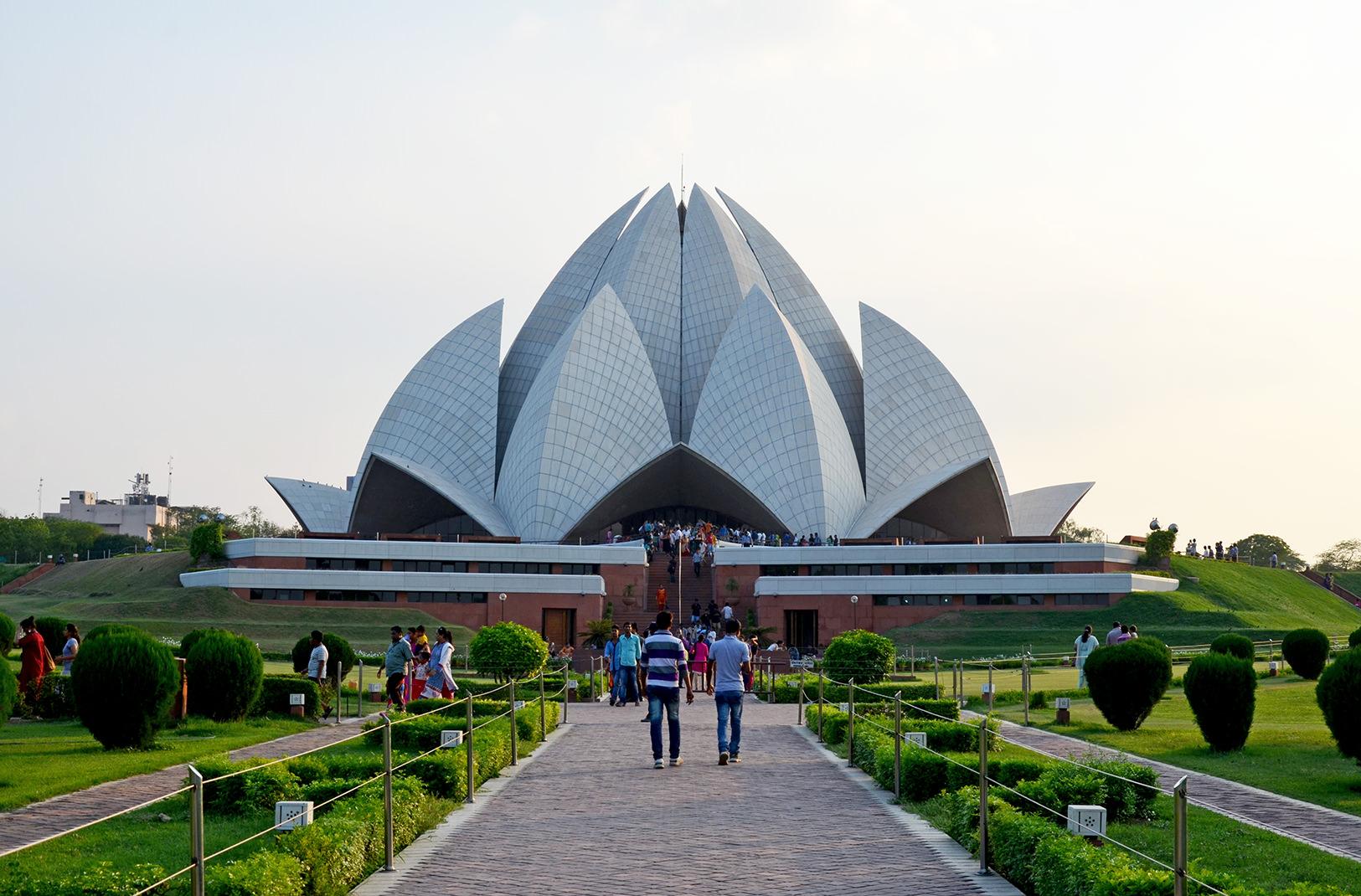 Храм Лотоса в Дели, Индия