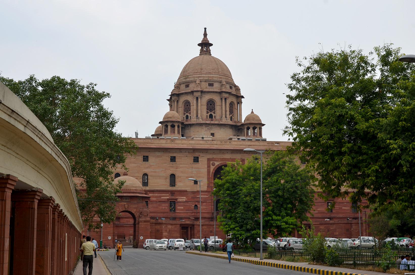 Президентский дворец Раштрапати Бхаван в Дели, Индия