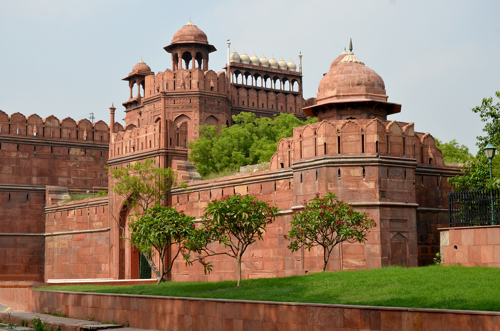 Стены Красного Форта в Дели, Индия