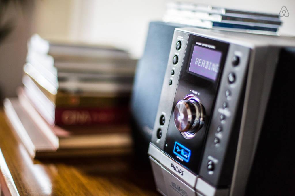 Аудиосистема в гостиной
