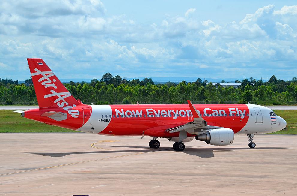 Разрушение мифов о поиске авиабилетов. Самолет авиакомпании AirAsia