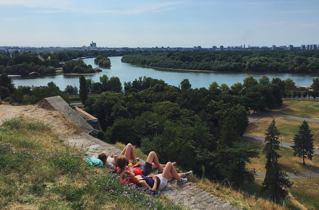 Белград и Дунай, Сербия