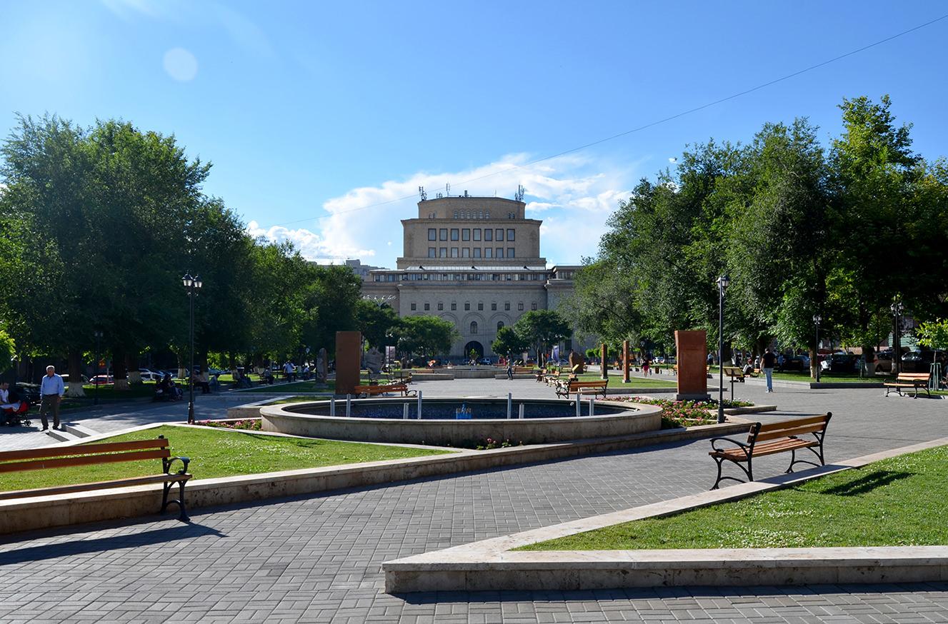 Парк Вернисаж, Ереван
