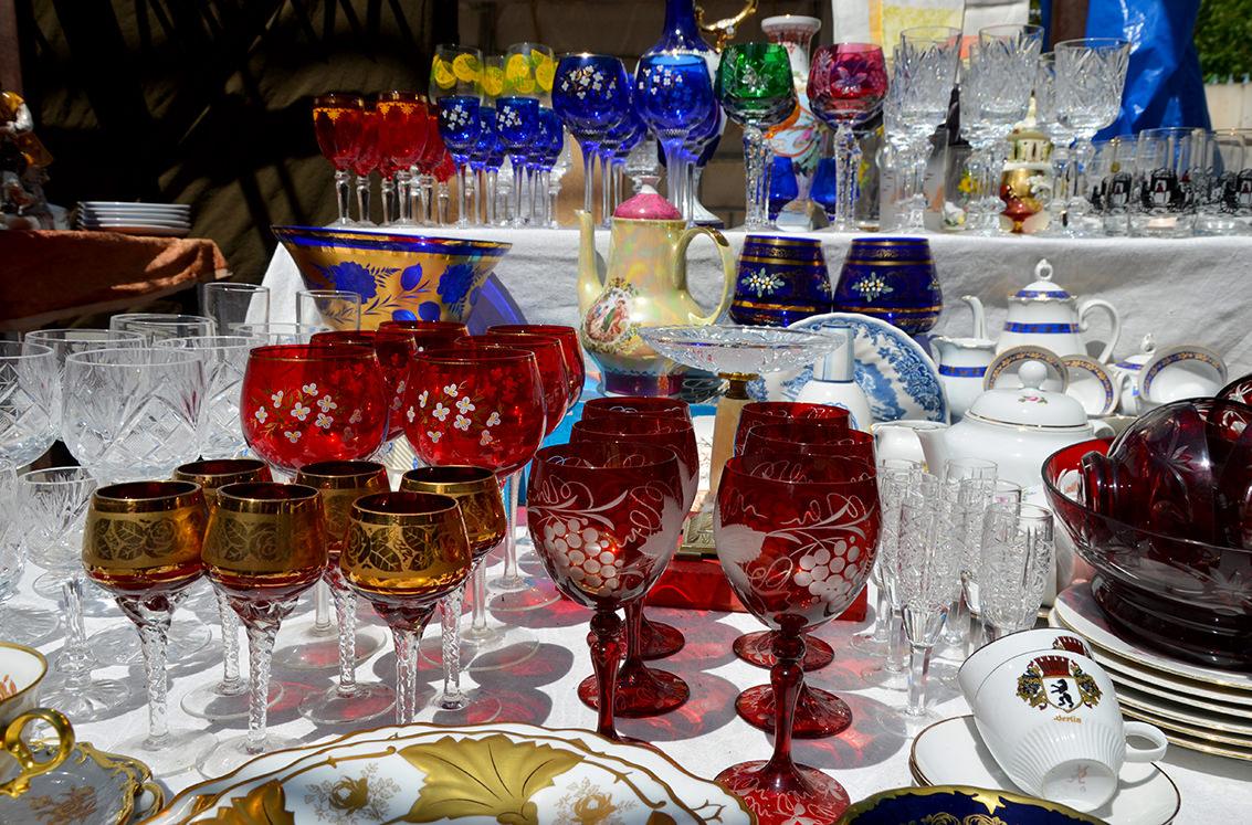 Блошиный рынок Еревана. Столовые приборы