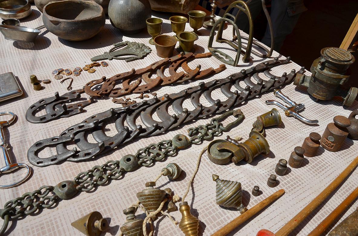 Блошиный рынок Еревана. Предметы быта