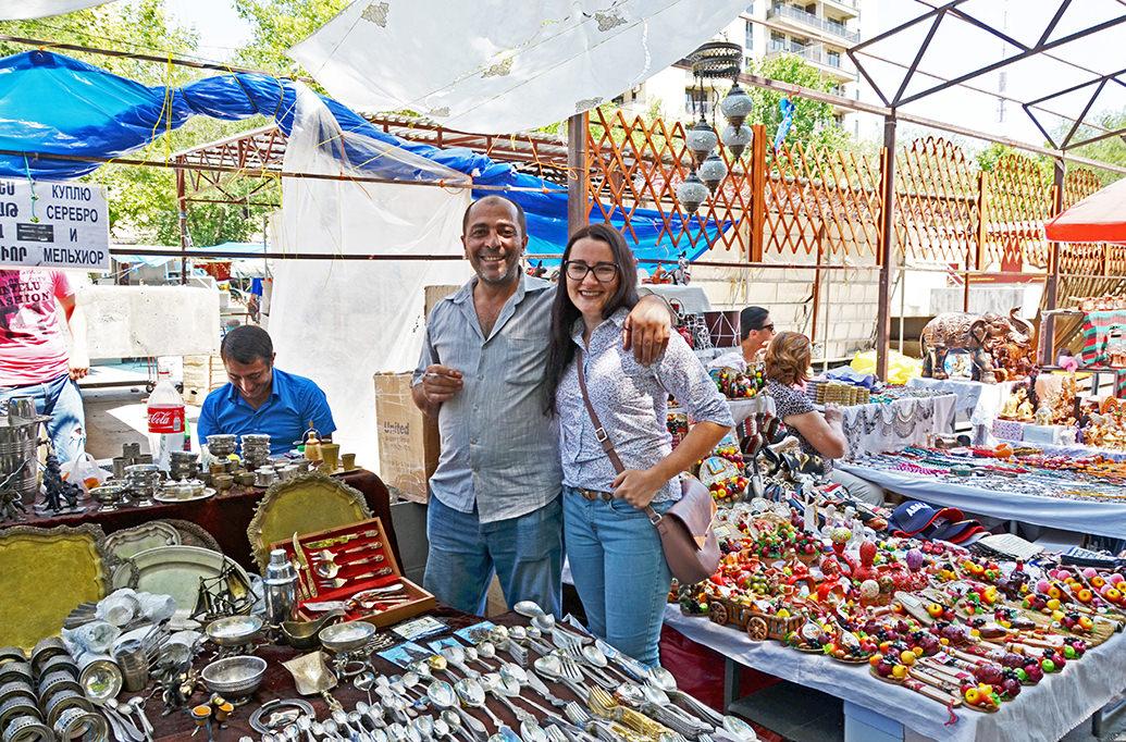 Блошиный рынок Еревана