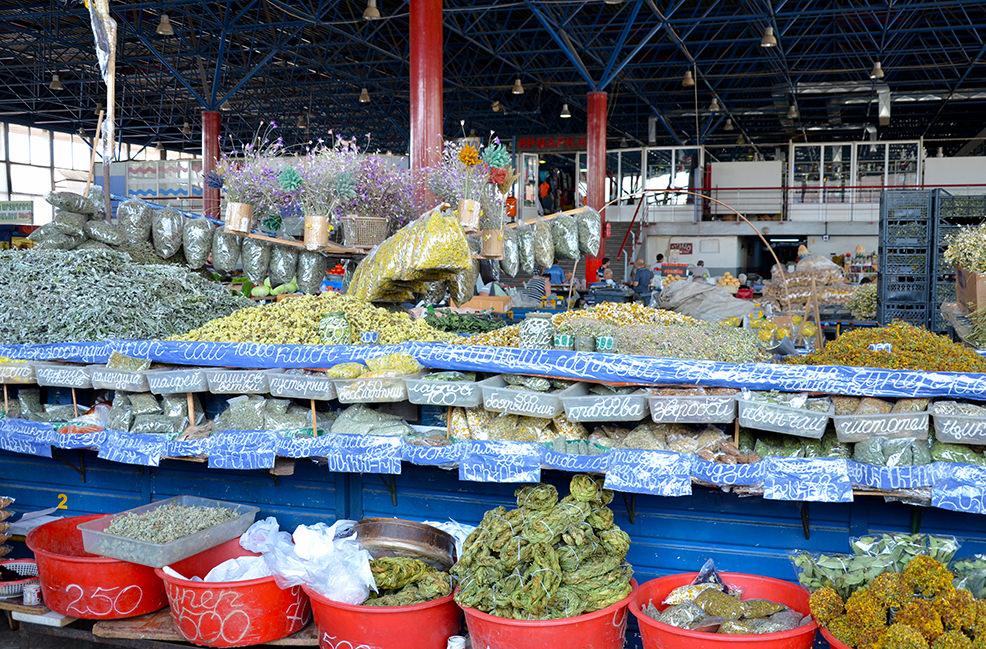 Травы на ереванском рынке