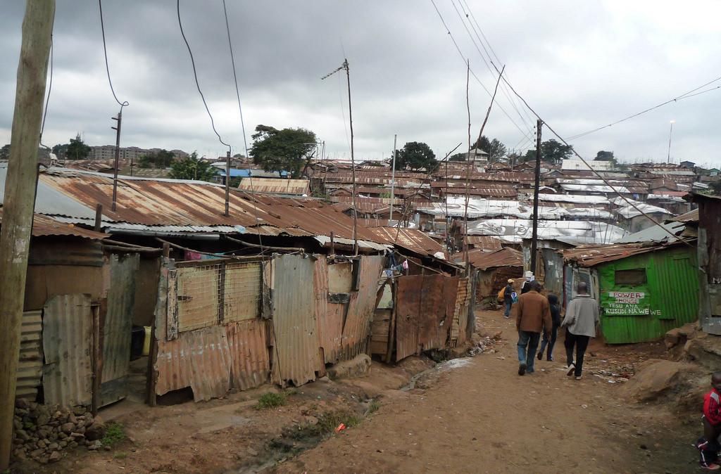 Трущобы Кибера в Найроби, Кения