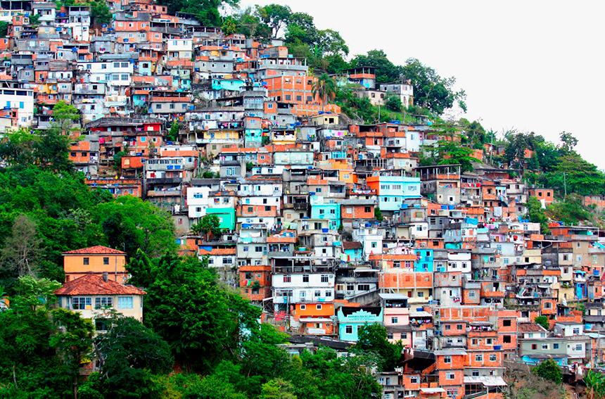 Бразильские фавелы