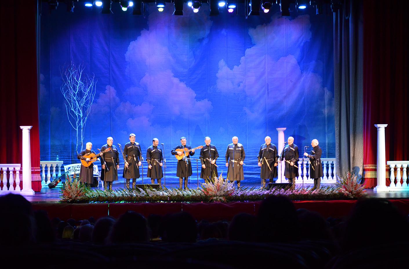 Грузинские голоса в Батумском Центре искусства и музыки